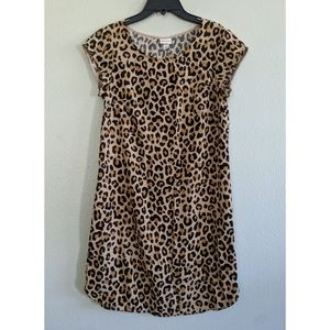 Merona Leopard Print Dress